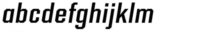 Kairos Sans Cond Medium Italic Font LOWERCASE