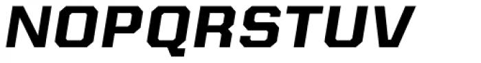 Kairos Sans Extd Bold Italic Font UPPERCASE