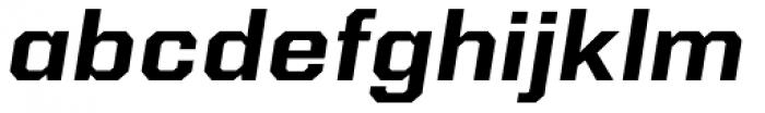 Kairos Sans Extd Bold Italic Font LOWERCASE