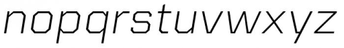 Kairos Sans Extd Light Italic Font LOWERCASE