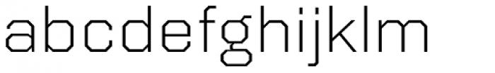 Kairos Sans Extd Light Font LOWERCASE