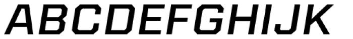 Kairos Sans Extd Medium Italic Font UPPERCASE
