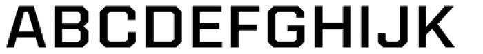 Kairos Sans Extd Medium Font UPPERCASE