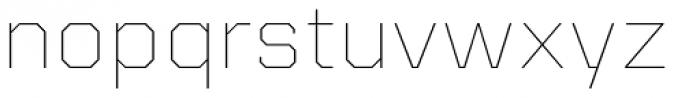 Kairos Sans Extd Thin Font LOWERCASE