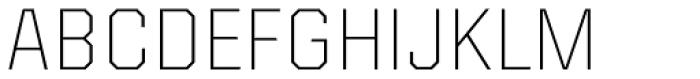 Kairos Sans ExtraLight Font UPPERCASE