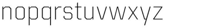 Kairos Sans ExtraLight Font LOWERCASE
