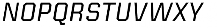 Kairos Sans Italic Font UPPERCASE