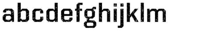 Kairos Sans Rough Font LOWERCASE