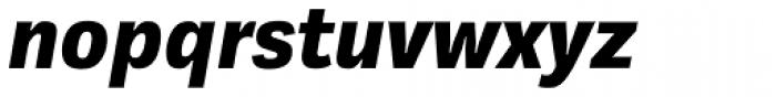 Kakadu Black Italic Font LOWERCASE