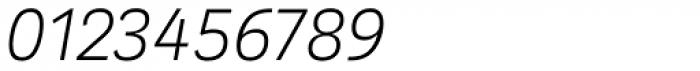 Kakadu Thin Italic Font OTHER CHARS