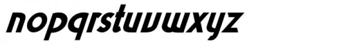 Kalchynsky Simple Heavy Italic Font LOWERCASE
