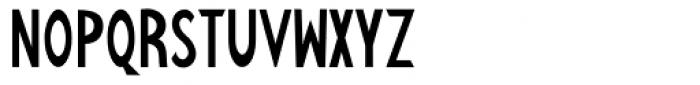 Kalchynsky Simple Regular Font UPPERCASE