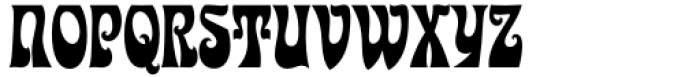 Kaleidoscope Regular Font UPPERCASE