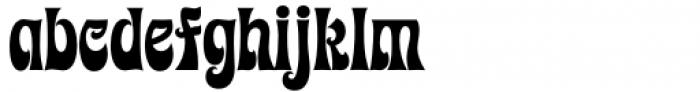 Kaleidoscope Regular Font LOWERCASE
