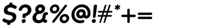 Kaleko 105 Round Bold Oblique Font OTHER CHARS