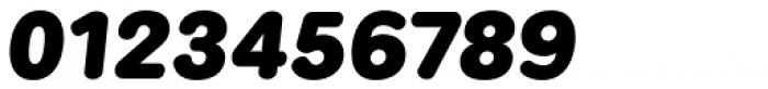 Kaleko 205 Round Heavy Oblique Font OTHER CHARS