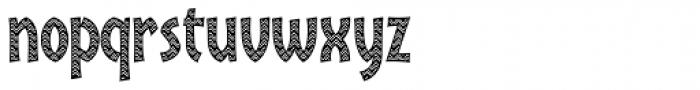 Kalimba Masai Font LOWERCASE