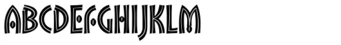 Kalimba Nenyanga Font UPPERCASE