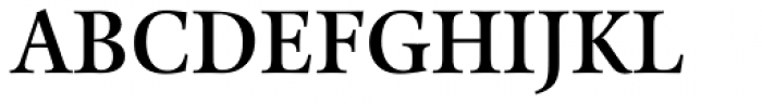Kalix SemiBold Font UPPERCASE