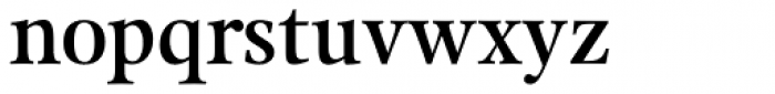 Kalix SemiBold Font LOWERCASE