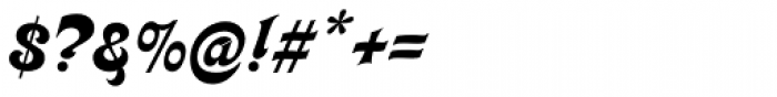 Kalligraphia Font OTHER CHARS