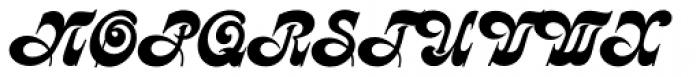 Kalligraphia Font UPPERCASE