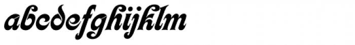 Kalligraphia Font LOWERCASE