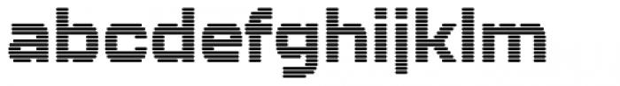 Kallisto Lined Font LOWERCASE