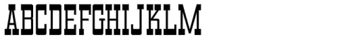 Kalvesta JNL Font UPPERCASE