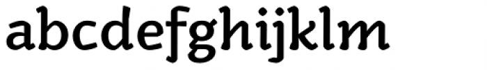 Kamado Medium Font LOWERCASE