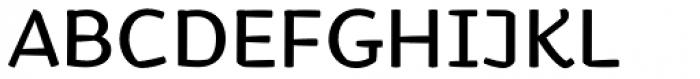 Kamado Regular Font UPPERCASE