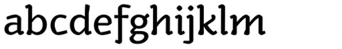 Kamado Regular Font LOWERCASE