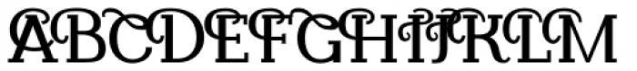Kamane Bold Font UPPERCASE