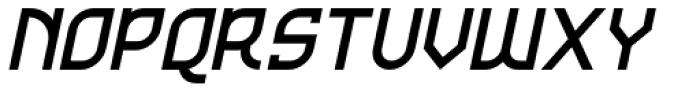 Kamaru Sans Bold Italic Font UPPERCASE