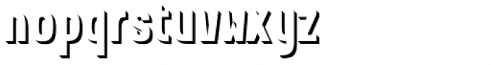 Kamenica Texture 5 Font LOWERCASE
