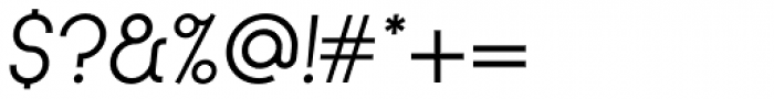 Kamerik 105 Book Oblique Font OTHER CHARS