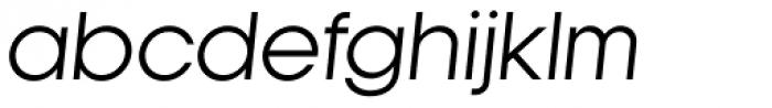 Kamerik 105 Book Oblique Font LOWERCASE