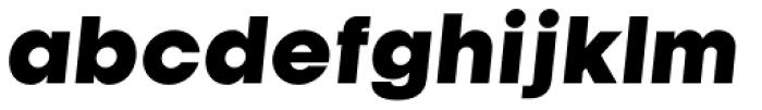 Kamerik 105 Heavy Oblique Font LOWERCASE