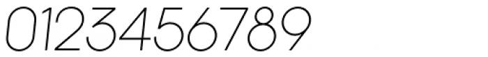 Kamerik 105 Light Oblique Font OTHER CHARS