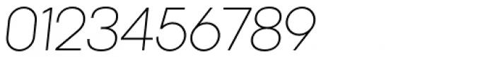 Kamerik 205 Light Oblique Font OTHER CHARS