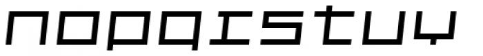 Kampen Block Oblique Font LOWERCASE