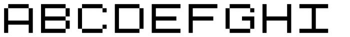Kampen Pixel Font UPPERCASE