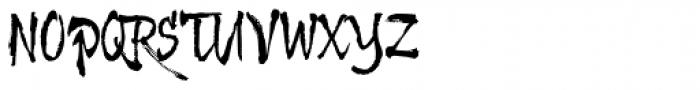 Kamuy Font UPPERCASE