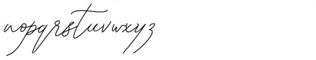 Kanaggawa Thin Font LOWERCASE