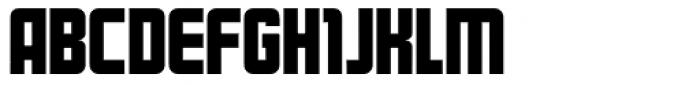 Kanal Font UPPERCASE