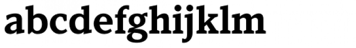 Kandal Bold Font LOWERCASE