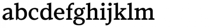 Kandal Medium Font LOWERCASE