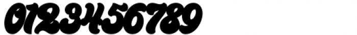 Kandani Extrude Font OTHER CHARS