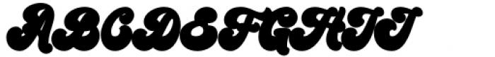 Kandani Extrude Font UPPERCASE