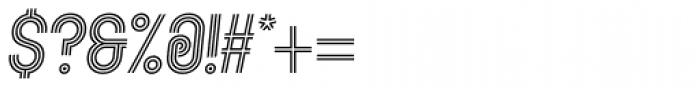 Kandel 105 Medium Oblique Font OTHER CHARS